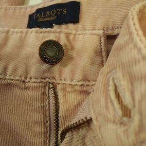Talbots Size 10 Boot Cut Corduroy Pants
